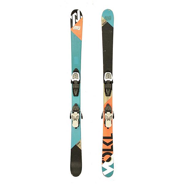 Used 2012 Volkl Kink Jr Kids Skis Marker 7.0 Bindings C Condition, , 600
