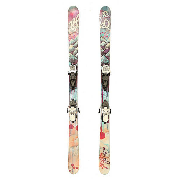Used 2013 Volkl Pyra Womens Girls Skis Marker 7.0 Bindings A Condition, , 600