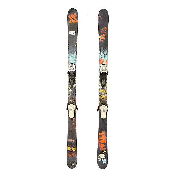 Used 2012 Volkl Wall Kids Youth Size Skis Marker 7.0 Bindings A Condition, , 600