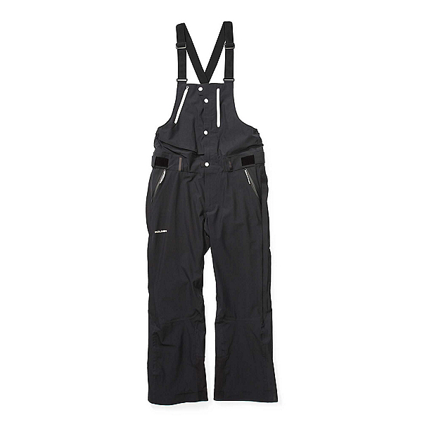 Holden Highland Bib Mens Ski Pants, Black, 600
