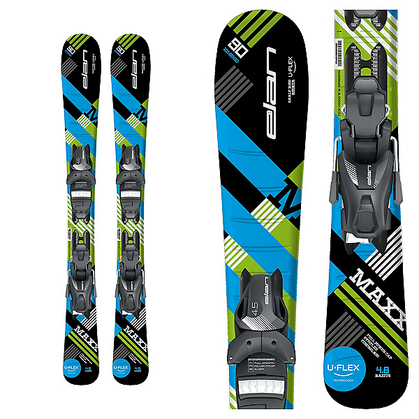 Elan Maxx Kids Skis with EL 4.5 Bindings, , 600