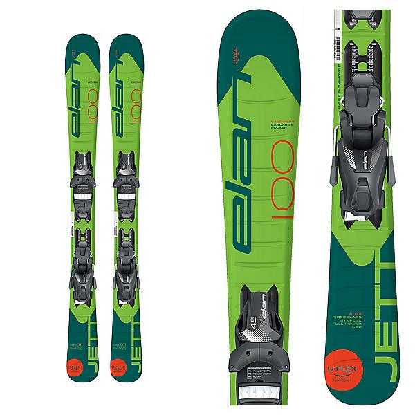 Elan Jett Kids Skis with EL 4.5 Bindings 2020, , 600