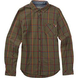 Burton Grace Long Sleeve Womens Shirt, Lichen Green Bonfire, 256