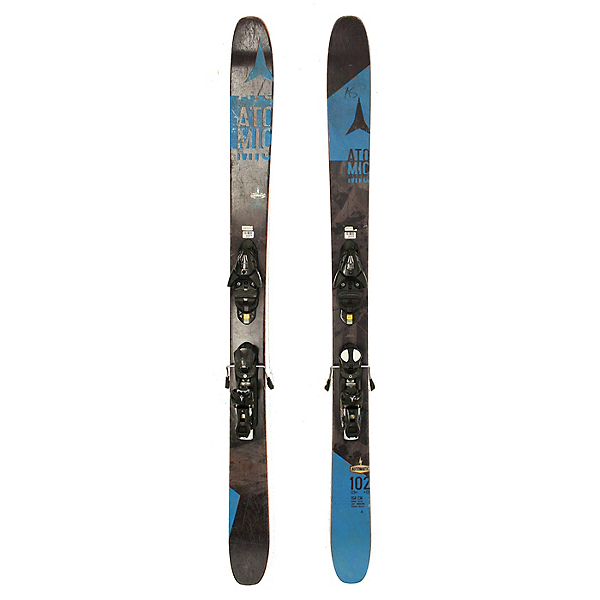 Used 2016 Atomic Automatic 102 Skis With Atomic Bindings C Condition, , 600