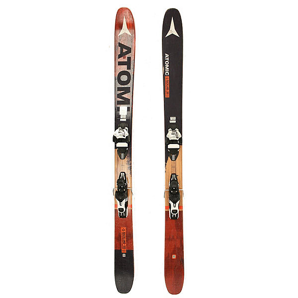 Used 2017 Atomic Backland 102 Skis Warden 11 Bindings C Condition, , 600