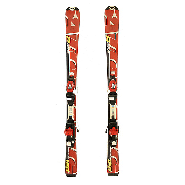 Used 2012 Atomic Race Jr Kids/Youth Skis Atomic XTE 45 Bindings A condition, , 600