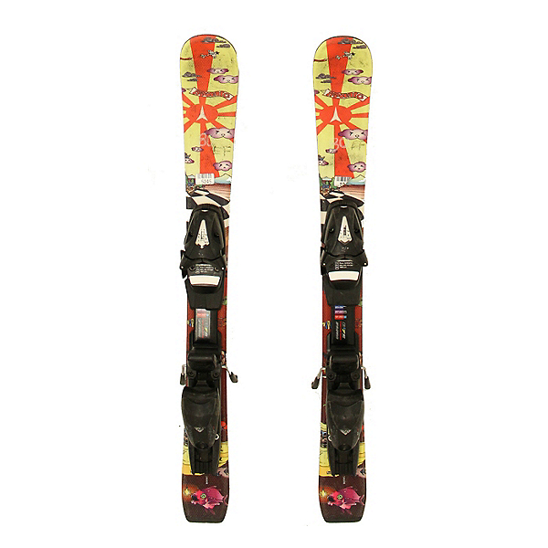 Used 2012 Atomic Rascal Chetler Kids Skis Sympro SP 45 Bindings A Condition, , 600
