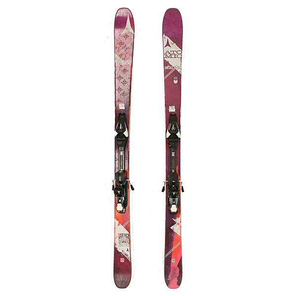 Used 2017 Womens Atomic Vantage 85W Skis XTE 10 Bindings C Condition, , 600