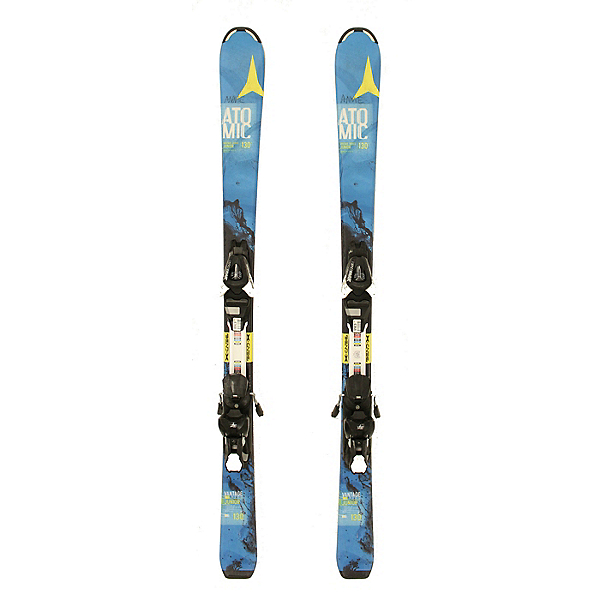 Used 2016 Atomic Vantage Jr Kids Youth Skis EZYTRAK 7 Bindings A Condition, , 600