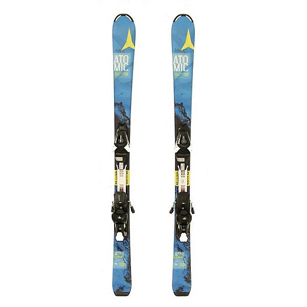 Used 2016 Atomic Vantage Jr Kids Youth Skis EZYTRAK 7 Bindings C Condition, , 600