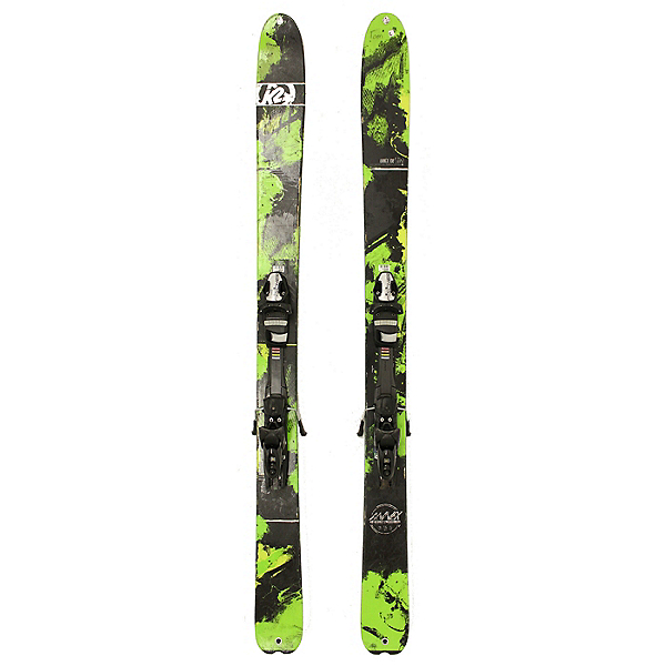 Used 2015 K2 Annex 108 Skis Fischer XTR 12 Bindings C Condition, , 600