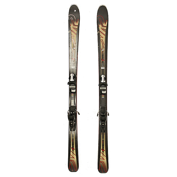 Used 2016 K2 Ikonic 86 Ti Skis Fischer XTR 12 Bindings C Condition, , 600