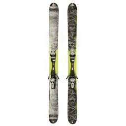 Used K2 Obsethed Powder Skis Tyrolia SP 130 Bindings A Condition, , 256