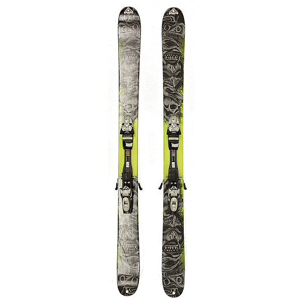 Used K2 Obsethed Powder Skis Tyrolia SP 130 Bindings A Condition, , 600