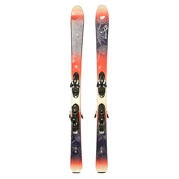Used 2016 Womens K2 OooLaLuv 85 Ti Skis Fischer XTR 10 Bindings C Condition, , 600