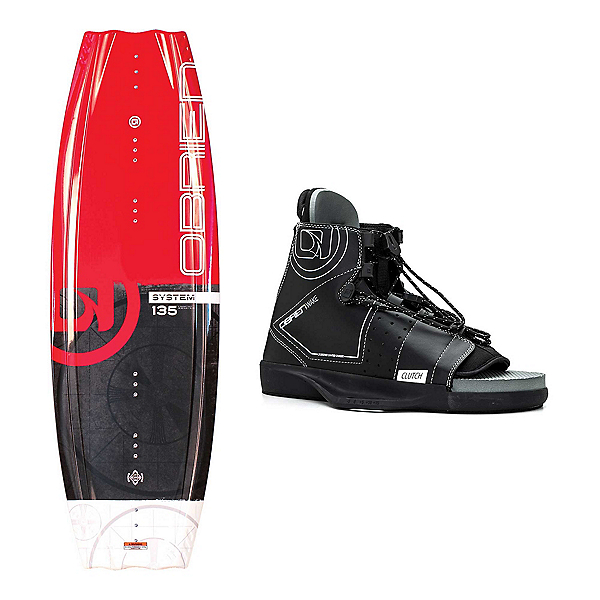 O'Brien System Blank Wakeboard With Clutch Bindings 2019, , 600