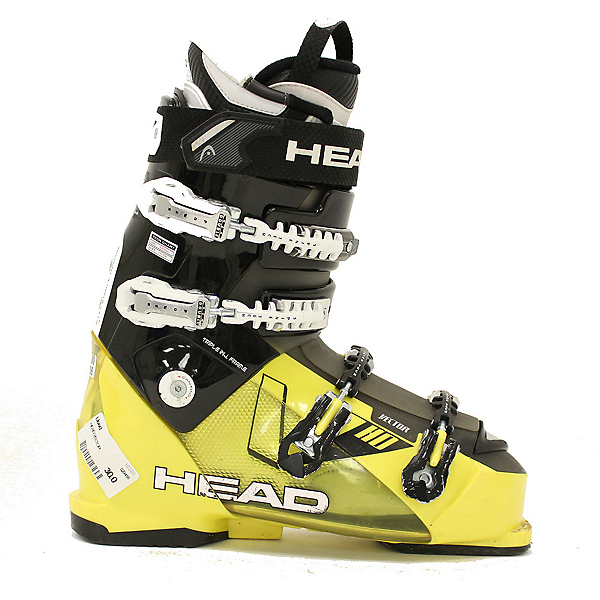 Used 2013 Mens Head Vector 110 Ski Boots Size Choices, , 600