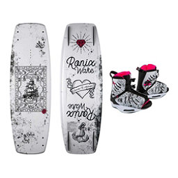 Ronix Quarter Til Midnight Womens Wakeboard With Halo Bindings 2018, , 256