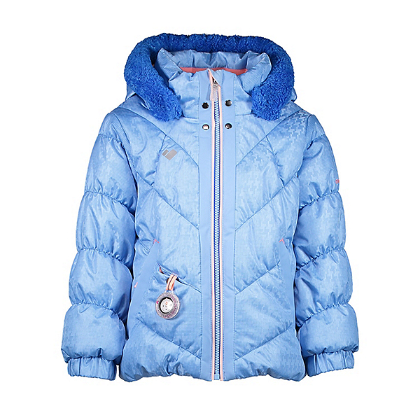 Obermeyer Bunny-Hop Toddler Girls Ski Jacket, Bo Peep Blue, 600