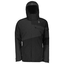 Scott Ultimate Dryo30 Mens Insulated Ski Jacket, Black Heather-Black, 256
