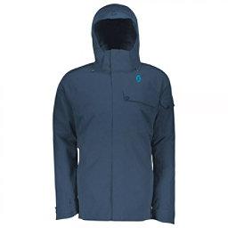 Scott Ultimate Dryo30 Mens Insulated Ski Jacket, Blue Heather, 256