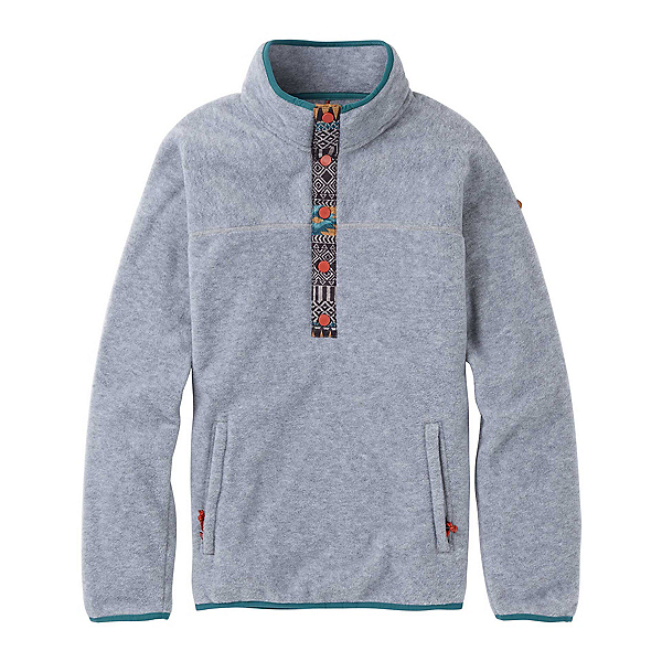 Burton Hearth Fleece Pullover Womens Shirt, , 600