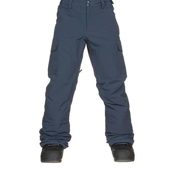 Burton Exile Cargo Kids Snowboard Pants, Mood Indigo, 600