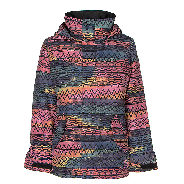 Burton Elodie Girls Snowboard Jacket, Technicat Dream, 600