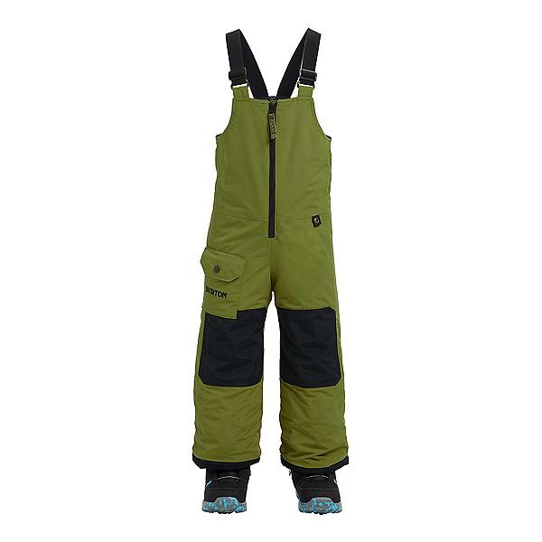Burton Minishred Maven Bib Toddler Boys Ski Pants, Olive Branch, 600