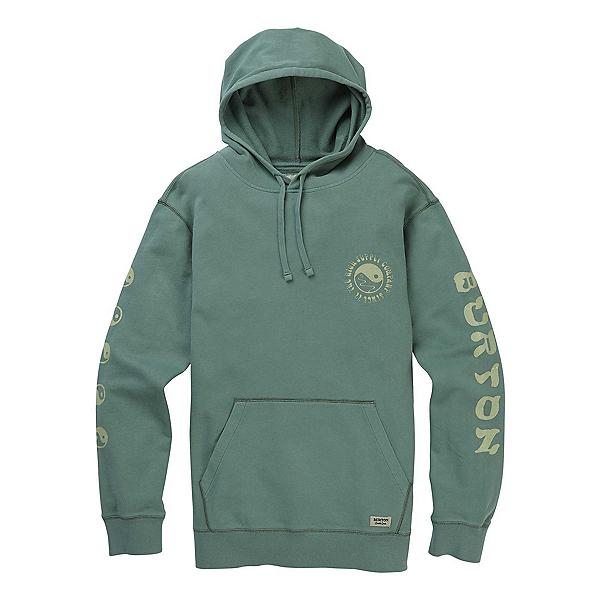 Burton Mooselook Organic Pullover Mens Hoodie, Lily Pad, 600