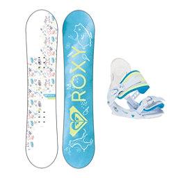 Roxy Poppy Girls Snowboard Package 2019, , 256