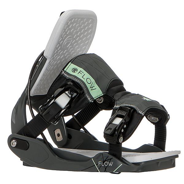 Black, M Womens Flow Minx Hybrid Snowboard Binding