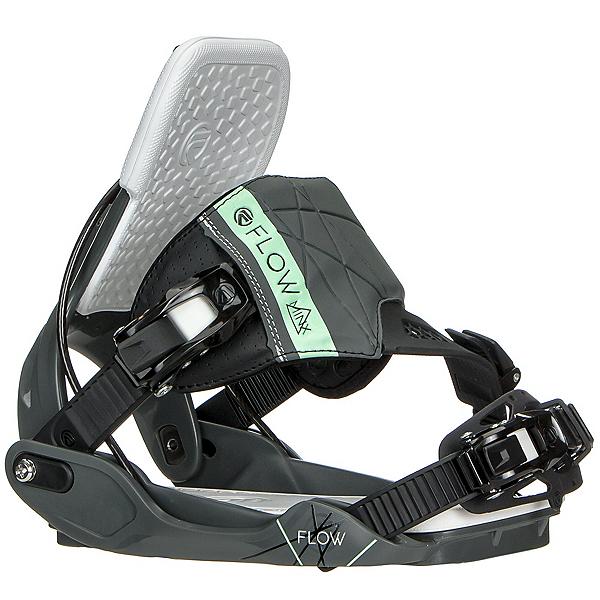 Flow Minx Hybrid Womens Snowboard Bindings, Space Grey, 600