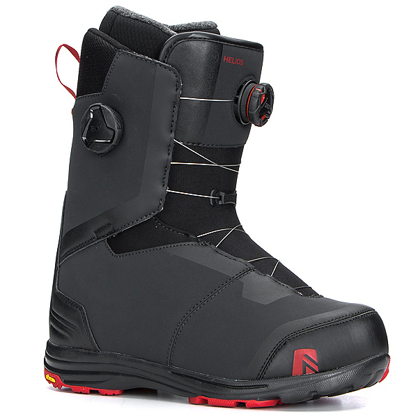 Nidecker Helios Focus Boa Snowboard Boots, Black, 600