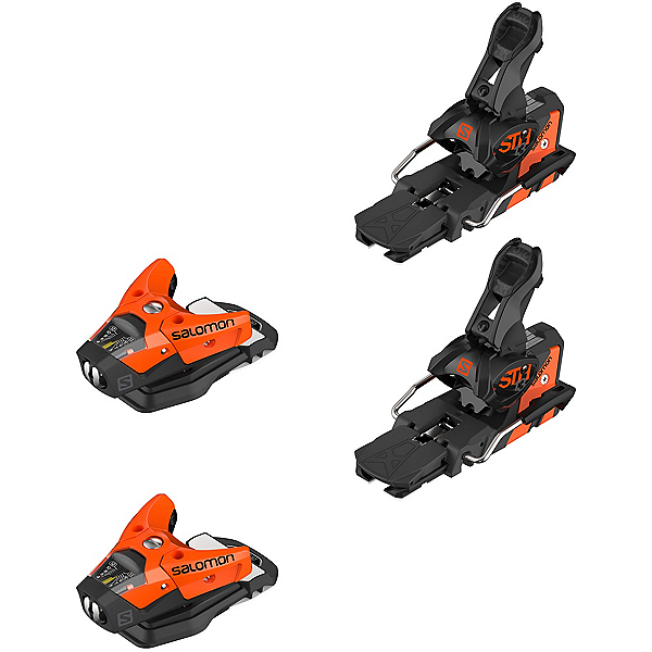 Salomon STH2 WTR 13 Ski Bindings 2020, Orange-Black, 600