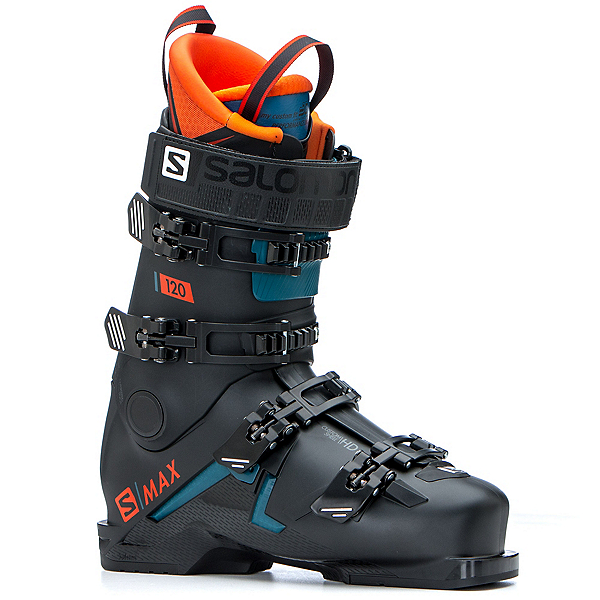 Salomon S-Max 120 Ski Boots 2020, Black-Orange, 600