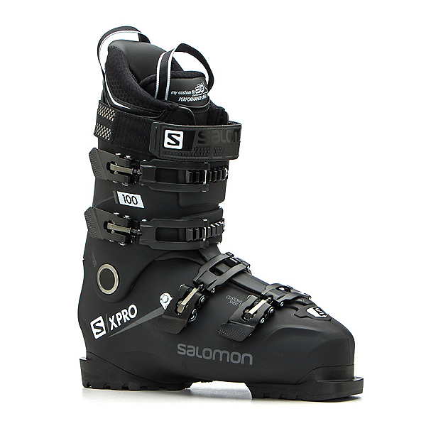 Salomon X-Pro 100 Ski Boots, Black-Metallic Black-White, 600