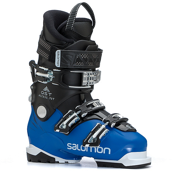 Salomon QST Access 70 T Kids Ski Boots, Race Blue-Black-White, 600