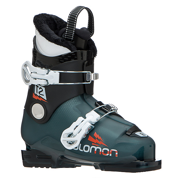 Salomon T2 RT Kids Ski Boots 2020, Maroccan Blue-Black-White, 600