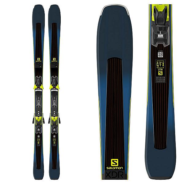 Salomon XDR 80 Ti Skis with Z 12 Walk Bindings 2019, , 600