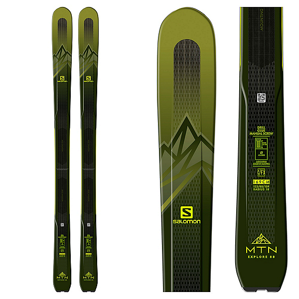 Salomon MTN Explore 88 Skis 2020, , 600