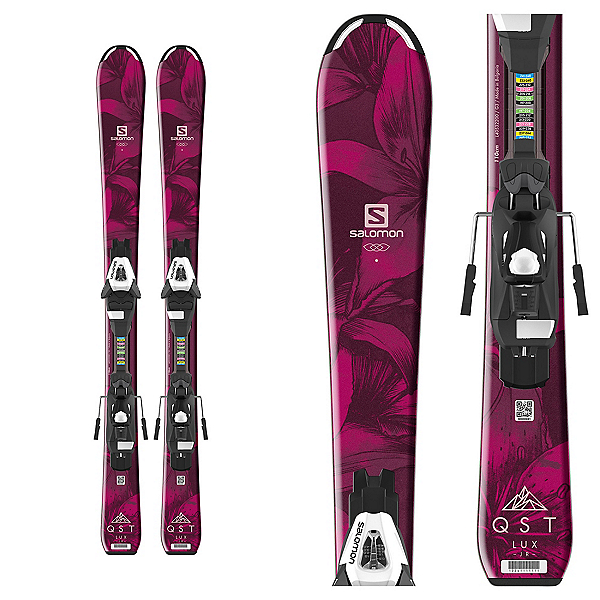 Salomon QST Lux Jr. Kids Skis with C5 Bindings, , 600