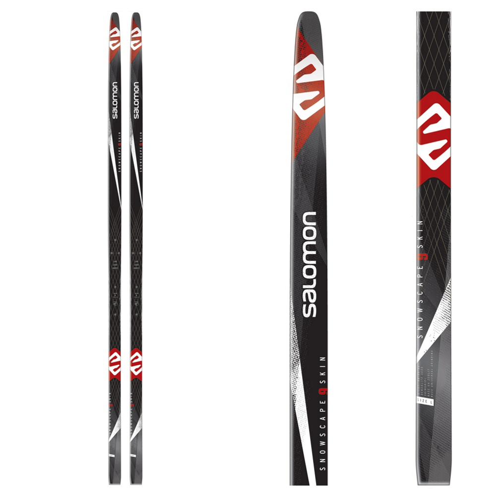 Salomon Snowscape 9 Skin Cross Country Skis im test