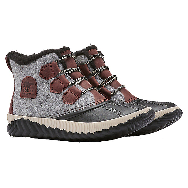 Sorel Out 'N About Plus Womens Boots, Redwood, 600