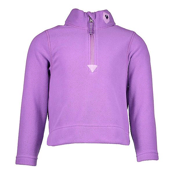 Obermeyer Ultra Gear Zip Girls Long Underwear Top, Purple Haze, 600