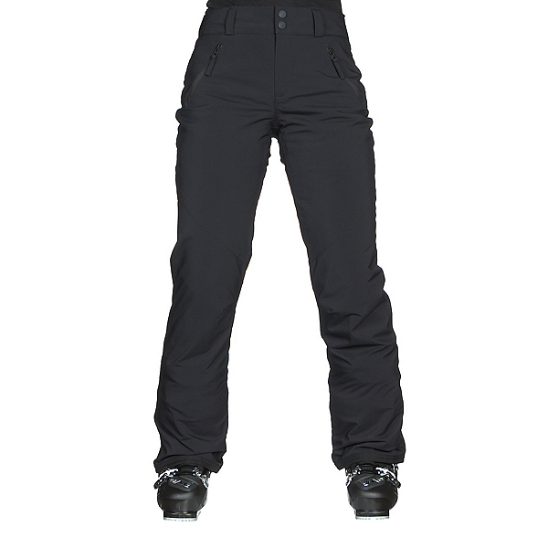 Obermeyer Aura Short Womens Ski Pants, Black, 600