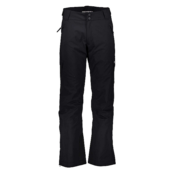 Obermeyer Alpinist Stretch Short Mens Ski Pants, Black, 600