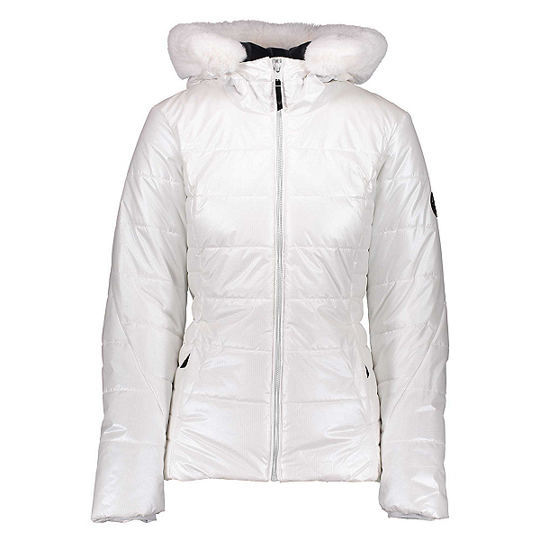 Obermeyer Beau Special Edition Womens Insulated Ski Jacket, White, 600
