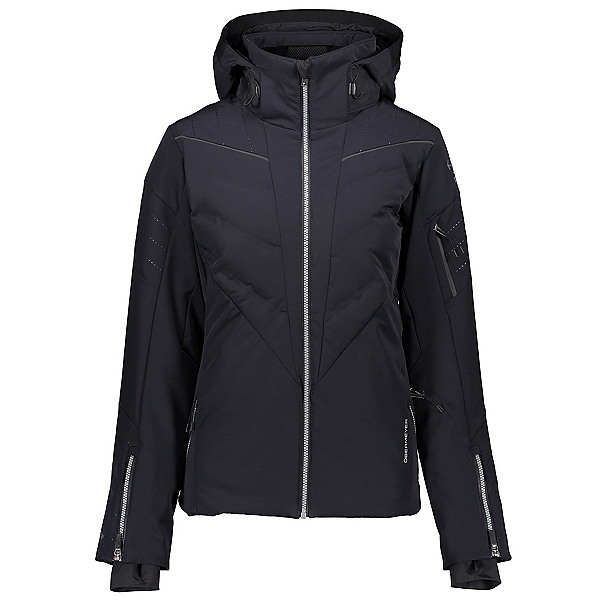 Obermeyer Razia Down Hybrid Womens Insulated Ski Jacket, Black, 600