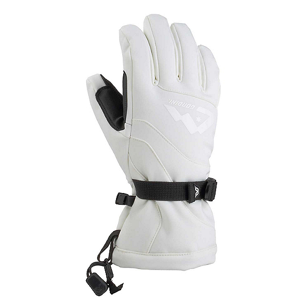 Gordini Fall Line III Womens Gloves, White, 600